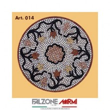 Mosaico in marmo (Art. 014)