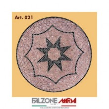 Mosaico in marmo (Art. 021)