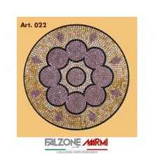 Mosaico in marmo (Art. 022)