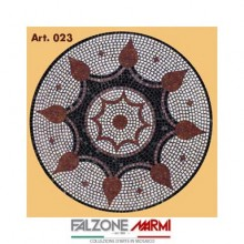 Mosaico in marmo (Art. 023)