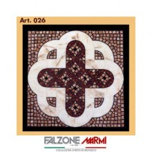 Mosaico in marmo (Art. 026)