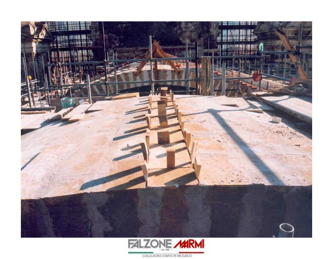 Lavori di restauro alla Cattedrale di Noto SR