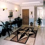 Pavimentazione per interni in marmo