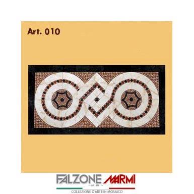Mosaico in marmo (Art. 010)