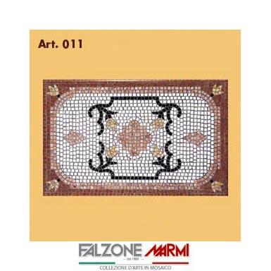 Mosaico in marmo (Art. 011)