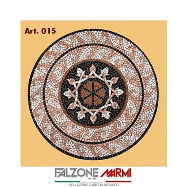 Mosaico in marmo (Art. 015)