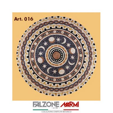 Mosaico in marmo (Art. 016)