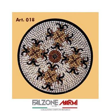 Mosaico in marmo (Art. 018)