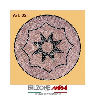 Mosaico in marmo (Art. 021)