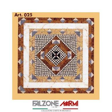 Mosaico in marmo (Art. 025)