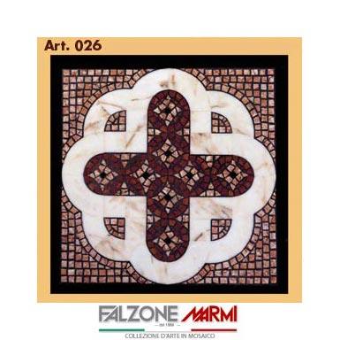 Mosaico in marmo (Art. 026)