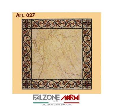 Mosaico in marmo (Art. 027)