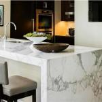 Ripiani in marmo per cucine e accessori