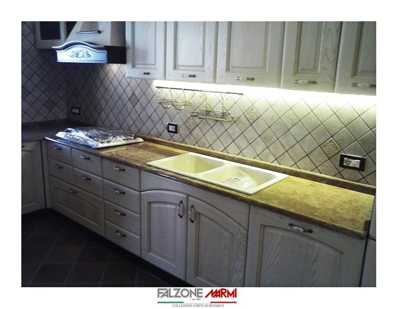 Ripiani in marmo per cucine e accessori - Falzone Marmi