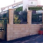Rivestimento recinzione in Pietra Sabucina